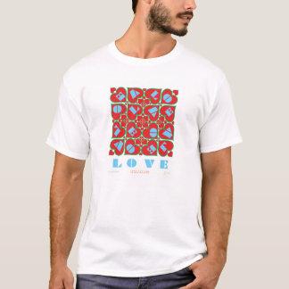 T-shirt Lettres de l'amour