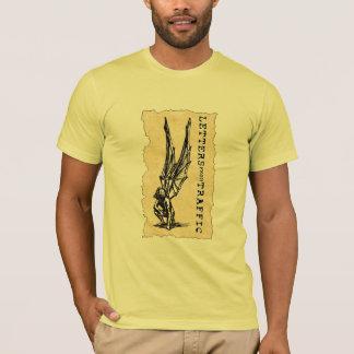 T-shirt Lettres du trafic - Icare