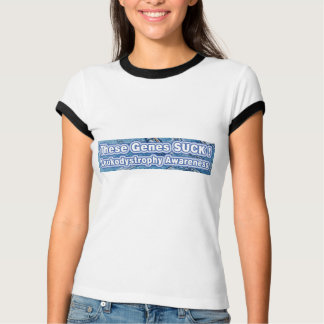 T-shirt Leukodystrophy que ces gènes SUCENT !