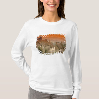 T-shirt L'Europe, Angleterre, Dorset, Shaftesbury. Colline