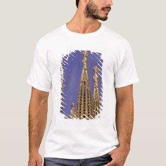 T-shirt L'Europe, Espagne, Barcelone Sagrada Familia