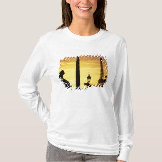 T-shirt L'Europe, France, Paris, endroit De Concorde