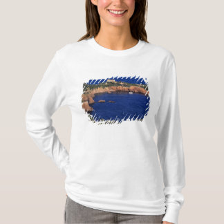 T-shirt L'Europe, France, Theoule-sur-MER. Tuile-couvert