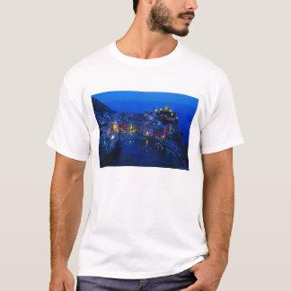 T-shirt L'Europe, Italie, Cinque Terre, Vernazza. Hillside