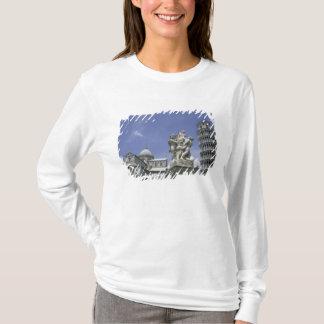 T-shirt L'Europe, Italie, Pise, tour penchée de Pise
