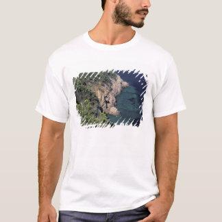 T-shirt L'Europe, Italie, Toscane. Côte rocheuse ; Cala