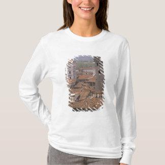 T-shirt L'Europe, Italie, Toscane, Lucques, panorama de