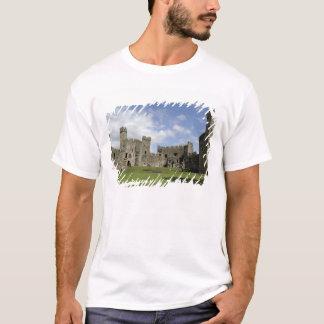 T-shirt L'Europe, Pays de Galles, Caernarfon. Château de