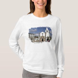 T-shirt L'Europe, Portugal, Obidos. Église Santa Maria
