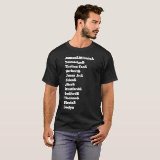 T-shirt Leurs noms, notre héritage