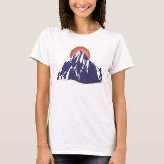 T-shirt Lever de soleil sur votre Everest