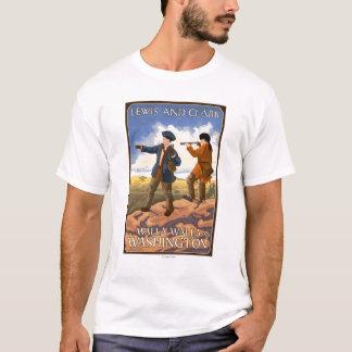 T-shirt Lewis et Clark - Walla Walla, Washington