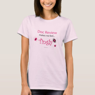 T-shirt L'examen de Doc. m'incite à me sentir… de