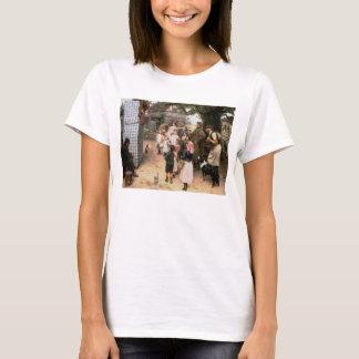 T-shirt L'exposition de poinçon et de Judy