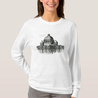 T-shirt L'extérieur de la basilique de St Peter à Rome