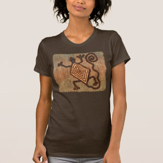 T-shirt Lézard antique