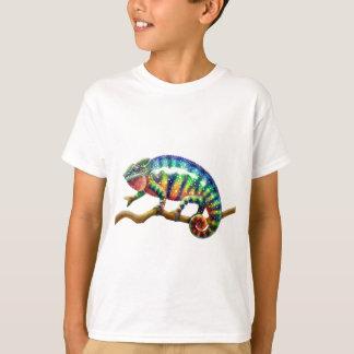 T-shirt Lézard de caméléon de panthère