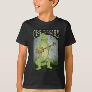 T-shirt Lézard de guitare de boîte à cigares