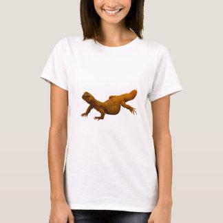 T-shirt Lézard Épineux-Coupé la queue