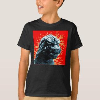 T-shirt 'Lézard géant sur le feu