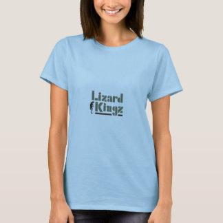 T-shirt Lézard Kingz (dames)