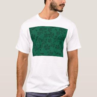 T-shirt lflowers verts