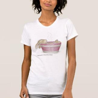 T-shirt L'habillement des femmes de HappyHoppers®