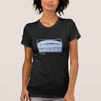 T-shirt L'habillement foncé des femmes de Wahoo