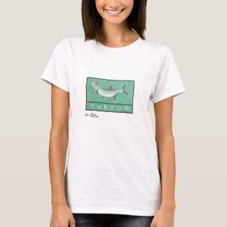 T-shirt L'habillement léger des femmes de tarpon