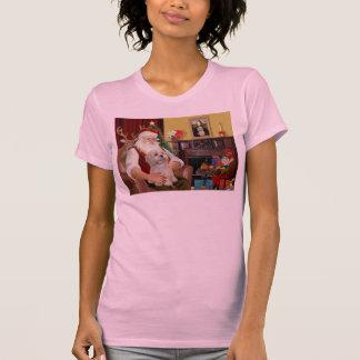 T-shirt Lhasa Apso (R2) de Père Noël