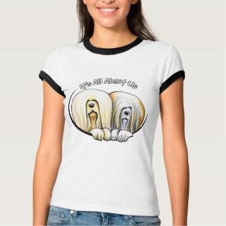 T-shirt Lhasa Apso son tout environ nous IAAU