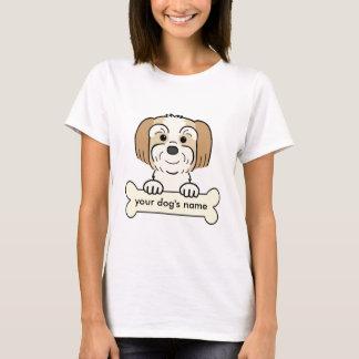 T-shirt Lhasa personnalisée Apso