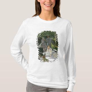 T-shirt l'Herbe de sur de Dejeuner de Claude Monet |,