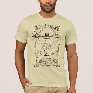 T-shirt L'homme de Vitruvian