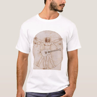 T-shirt L'homme de Vitruvian bascule 2