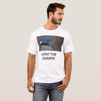 T-shirt Liam le gamer
