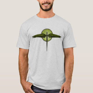 T-shirt Libellule abstraite