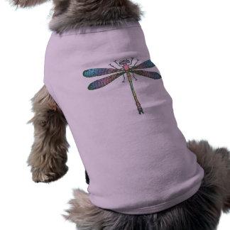 T-shirt Libellule d'arc-en-ciel