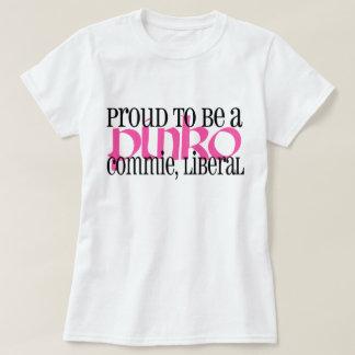 T-shirt Libéral coco gauchisant fier