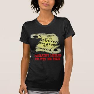 T-shirt Libéraux frustrants de constitution des USA sur