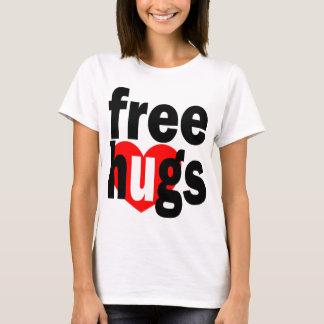 T-shirt libérez le coeur d'étreintes
