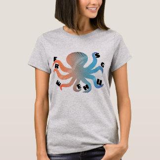 T-shirt Libérez les étreintes d'un poulpe