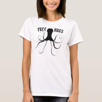 T-shirt Libérez les étreintes d'un poulpe vintage