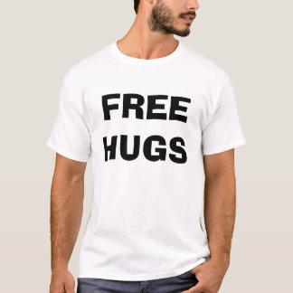 T-shirt Libérez les étreintes et les baisers - customisés