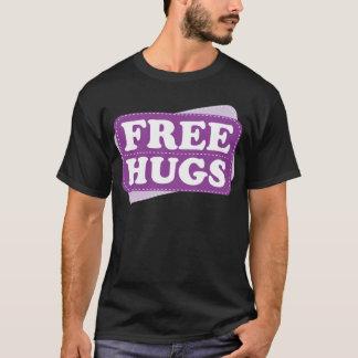 T-shirt Libérez les étreintes - pourpre