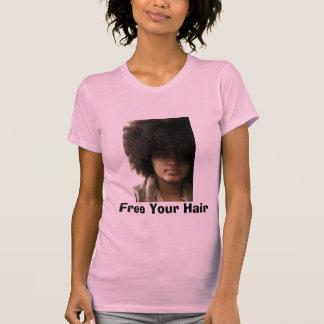 T-shirt Libérez vos cheveux
