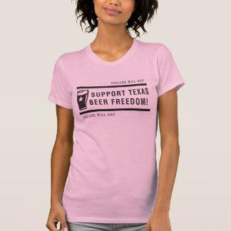 T-shirt Liberté de bière du Texas de soutien