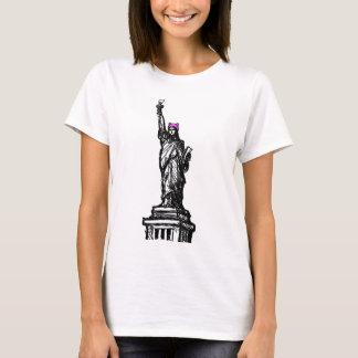 T-shirt Liberté de casquette de chat