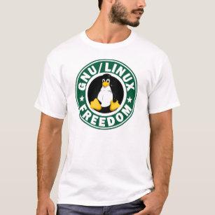 T-shirt Liberté de Linux