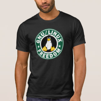 T-shirt Liberté de Linux de GNOU